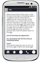 Screenshot of Eelam communicator