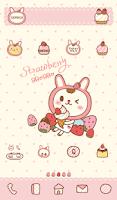Screenshot of Strawberry BboBbo dodol theme