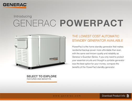 Generac Powerpact Demo