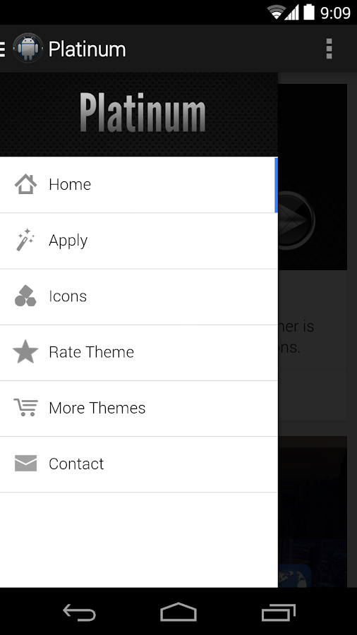 Platinum - Icon Pack - screenshot