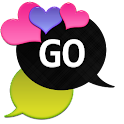 GO SMS - Loving Hearts 5 icon