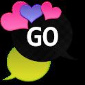 GO SMS - Loving Hearts 5 icon