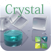 Crystal Next Launcher 3D Theme