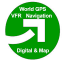 VFR GPS Airplane Navigation icon