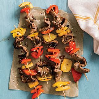 Beef and Bell Pepper Kebabs