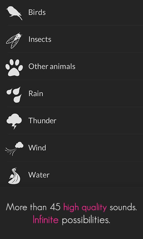 TaoMix - Focus, sleep, relax - screenshot