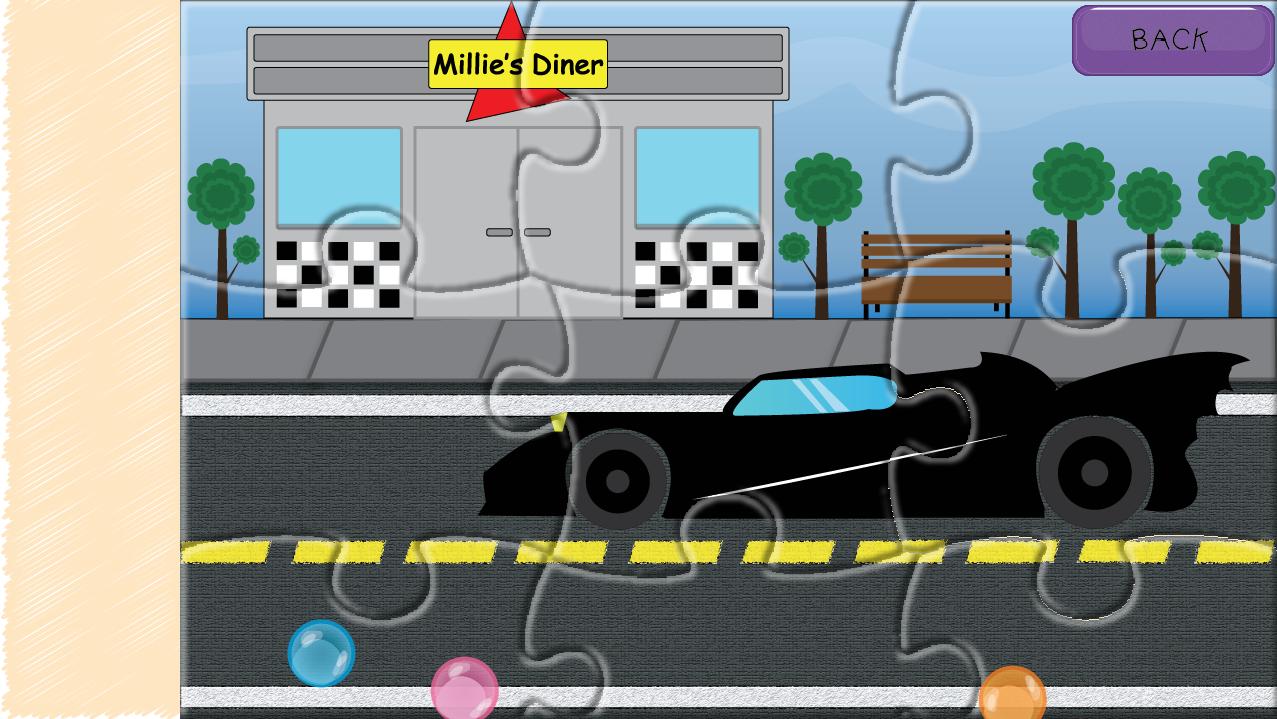 kids car tractor puzzles screenshot