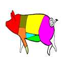 Cuts of meat logo