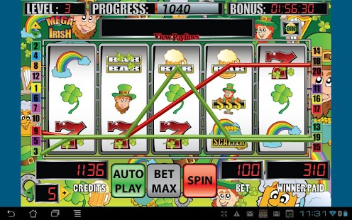 Mega Irish Slot Machine- screenshot thumbnail