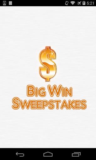 Big Win Sweeps