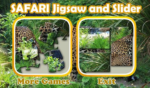Safari Jigsaw and Slider