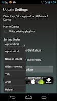 Screenshot of Playlist Organizer
