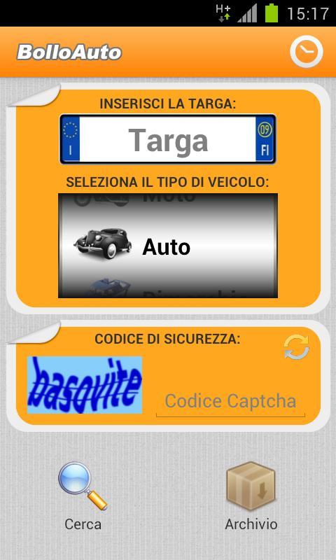 BolloAuto - screenshot