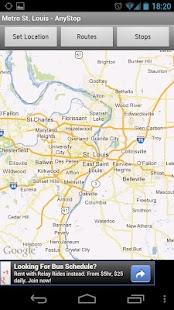 Metro Transit St Louis AnyStop - screenshot thumbnail