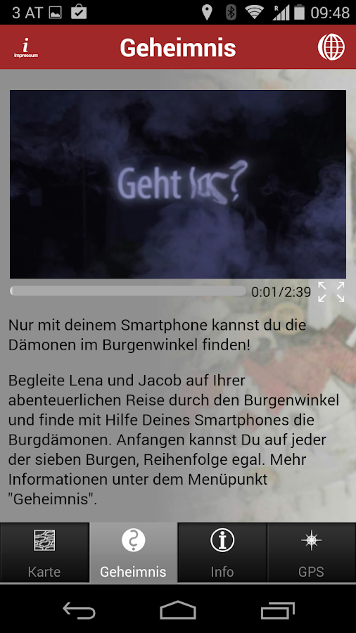 Burgdämonen – Screenshot
