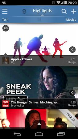 Vodio: Watch Videos, TV & News 1.7.1 screenshot 159721
