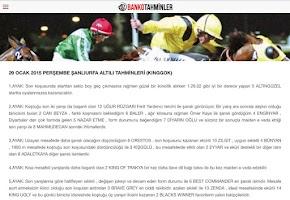 Screenshot of Banko Tahminler At Yarışı