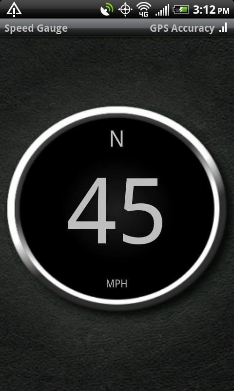 Speed Gauge - screenshot