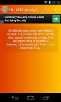 Screenshot of Good Morning Quotes