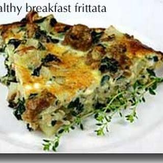 Healthy Breakfast Frittata.