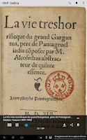 Screenshot of Gallica