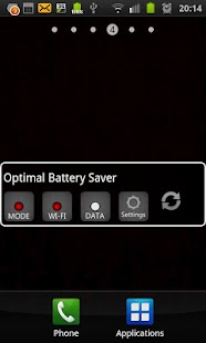 Optimal Battery Saver- screenshot thumbnail