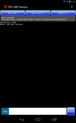 FTDI UART Terminal