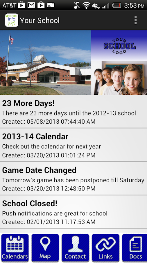 School Info - screenshot