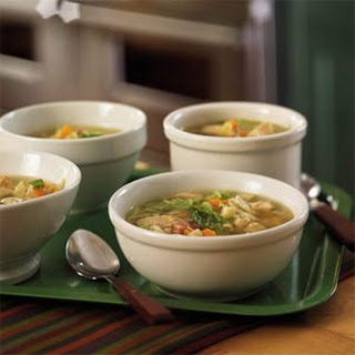 Turkey-Pasta Soup.