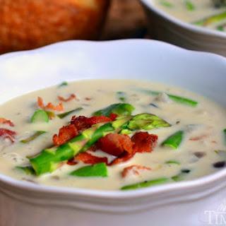 Mom's Creamy Asparagus Soup