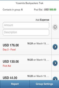GEM - Group Expense Manager - screenshot thumbnail