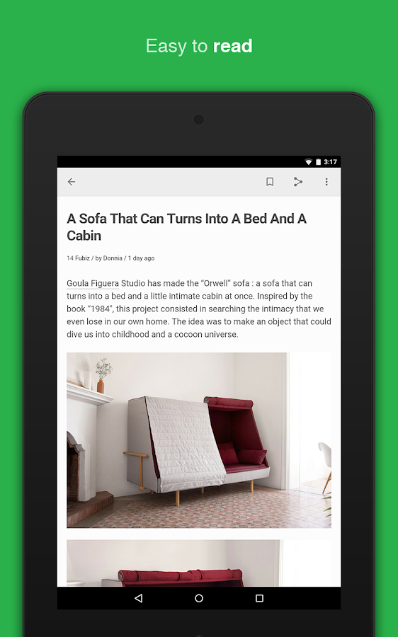 Feedly - Get Smarter: screenshot