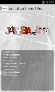 Jambalaya Sports & Ent.- screenshot thumbnail