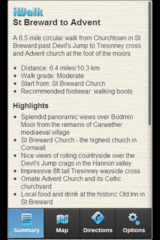 iWalk St Breward to Advent