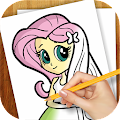 Download Android Game Learn to Draw Equestria Girls for Samsung