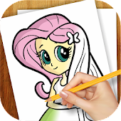 Game Learn to Draw Equestria Girls version 2015 APK