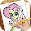Learn to Draw Equestria Girls for Lollipop - Android 5.0