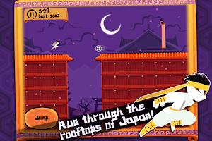 Screenshot of Ninja Nights Extreme - Runner