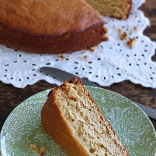 Honey Cardamom Snack Cake