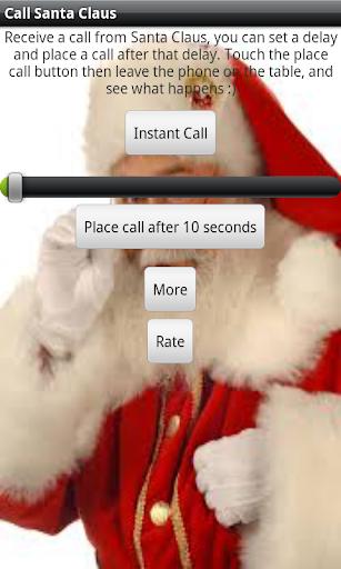 Call Santa Clause