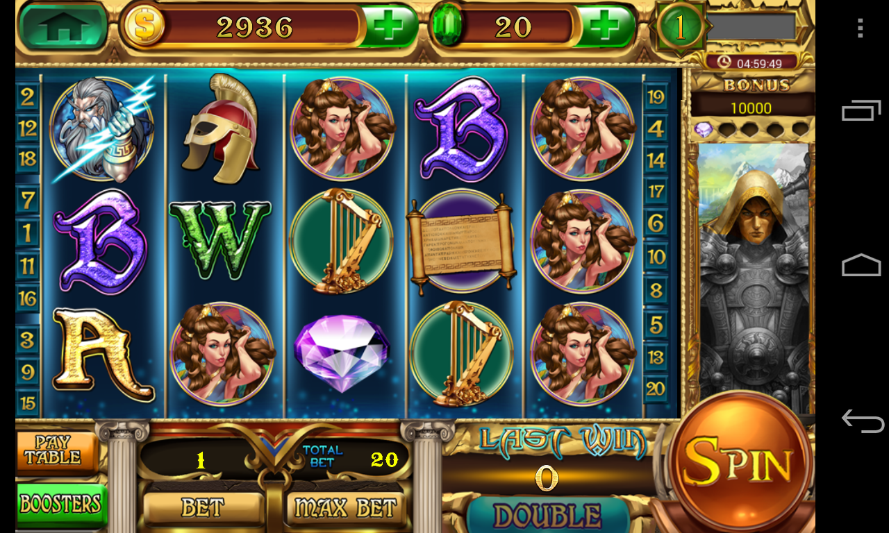 Slots - Zeus's Wrath - screenshot