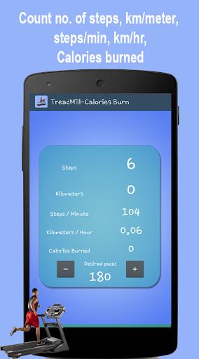 TreadMill-Calories Burnt