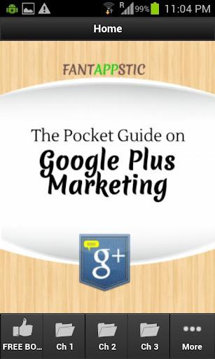 Pocket Guide - GooglePlus Mktg