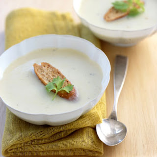 Creamy Chinese Celery Soup.