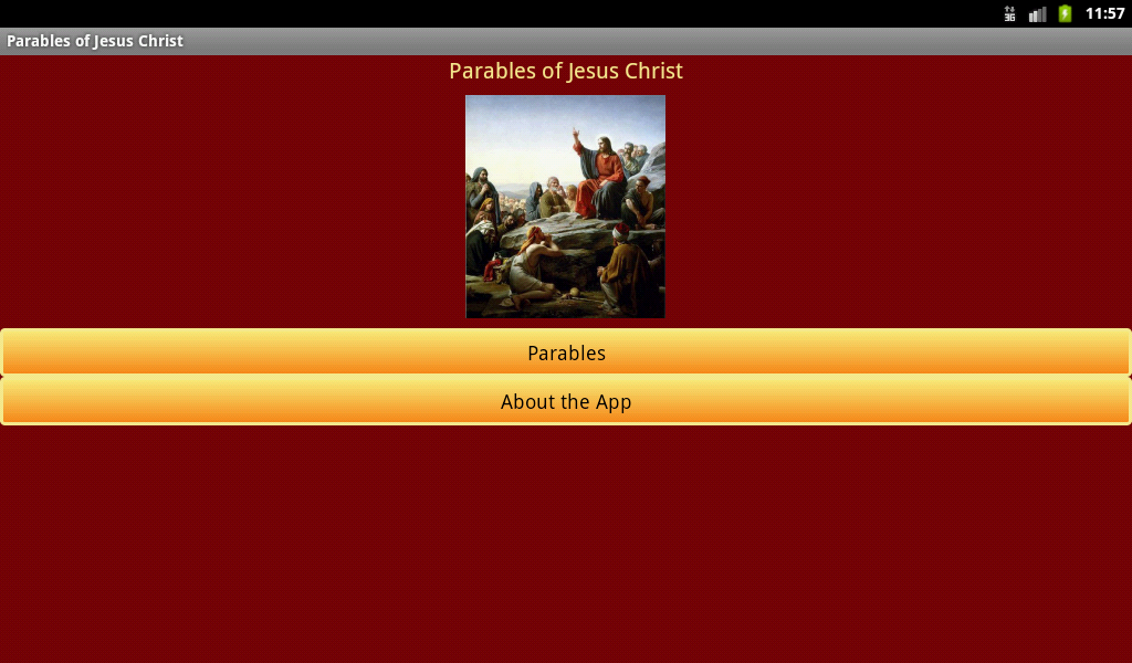 Parables of Jesus Christ- screenshot