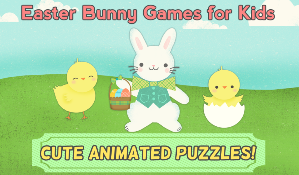 Easter Bunny Games: Puzzles- screenshot