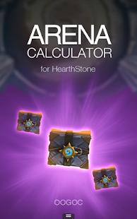 Arena Calculator Hearthstone