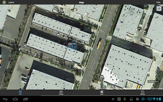 Screenshot of LiveView GPS Tracking Utility