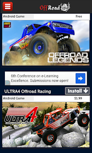 Offroad Racing Games - screenshot thumbnail