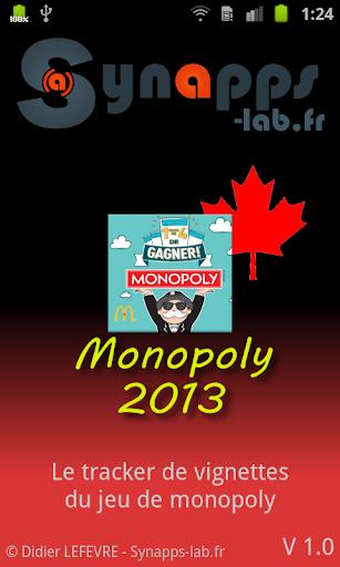 Mc Monopoly 2013 canada